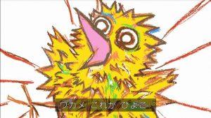 堀川君が描いたヒヨコ