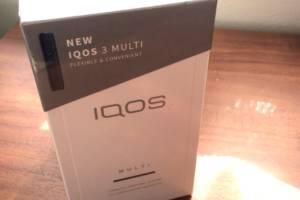 iQOS MULTI の箱